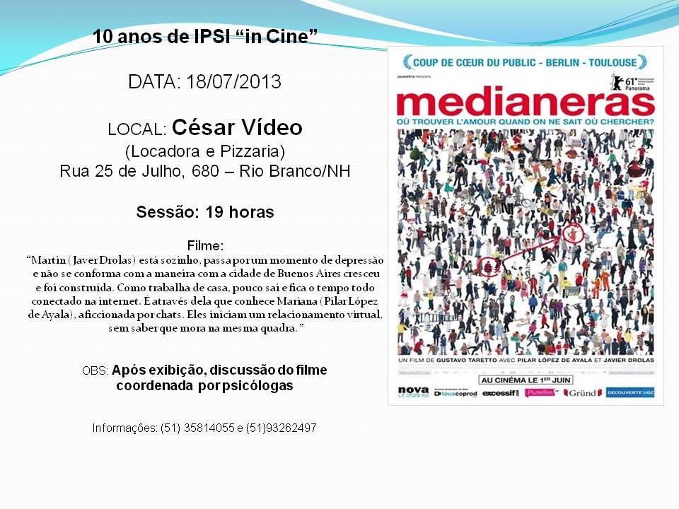 IPSI in Cine Medianeras 18 07