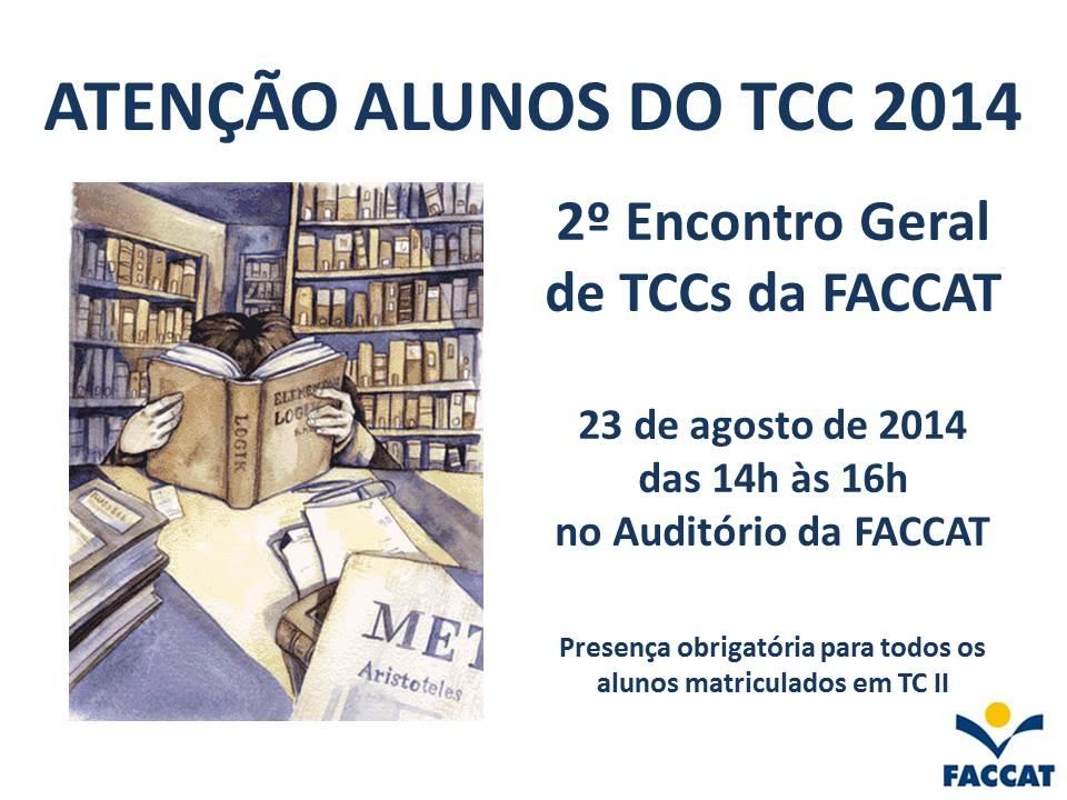 2014_2º_Encontro_Geral_de_TCCs_da_FACCAT