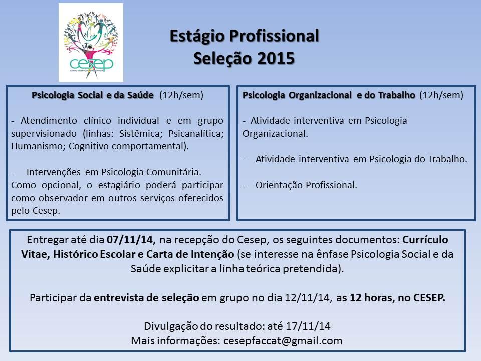 cartaz seleçao EP 2015