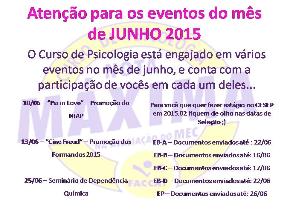 junho 2015