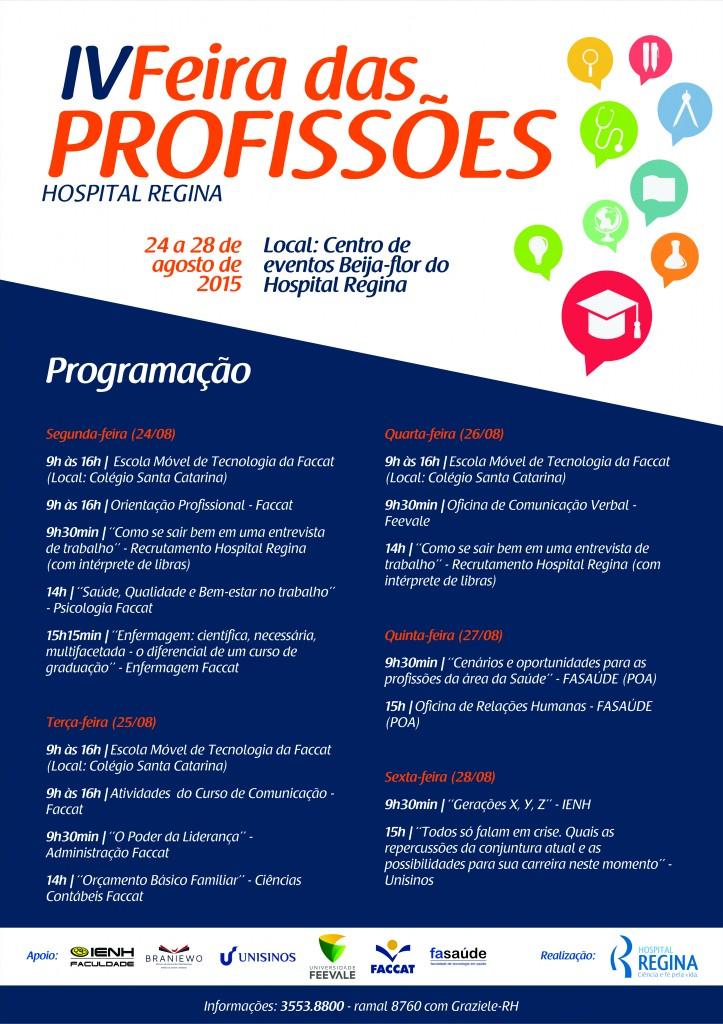 @Cartaz A3 Programação Feira das profissões