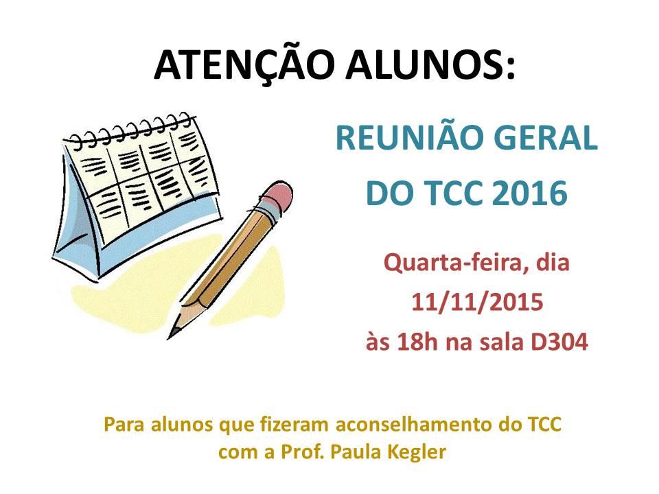 2015 Reunião Geral