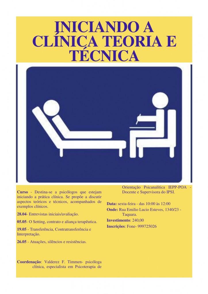 Curso Iniciando a Clinica -1