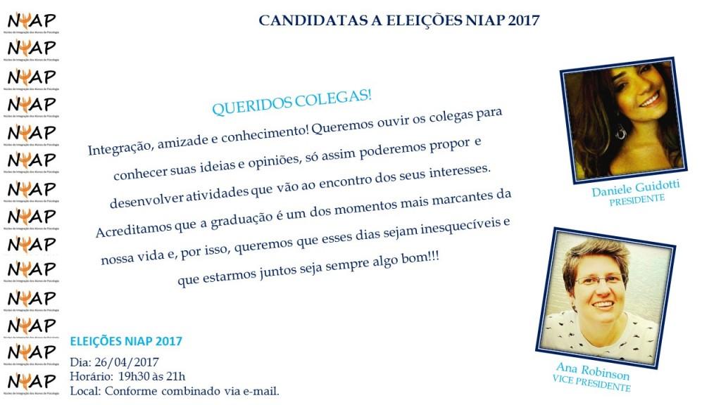 Eleições NIAP 2017