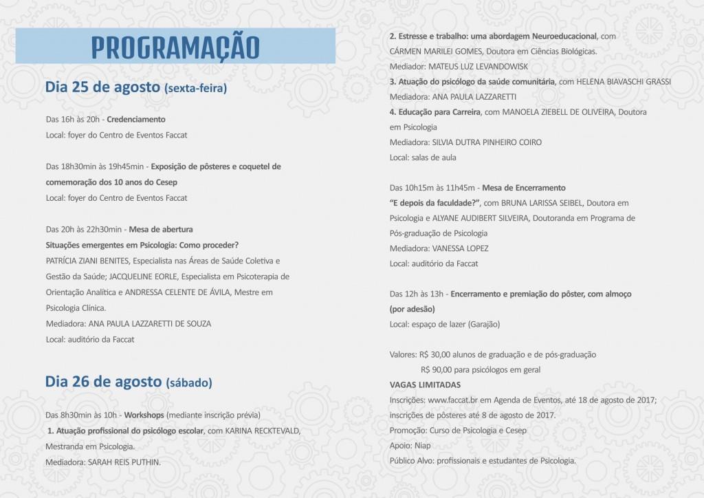 Folder Jornada CESEP 2017-2