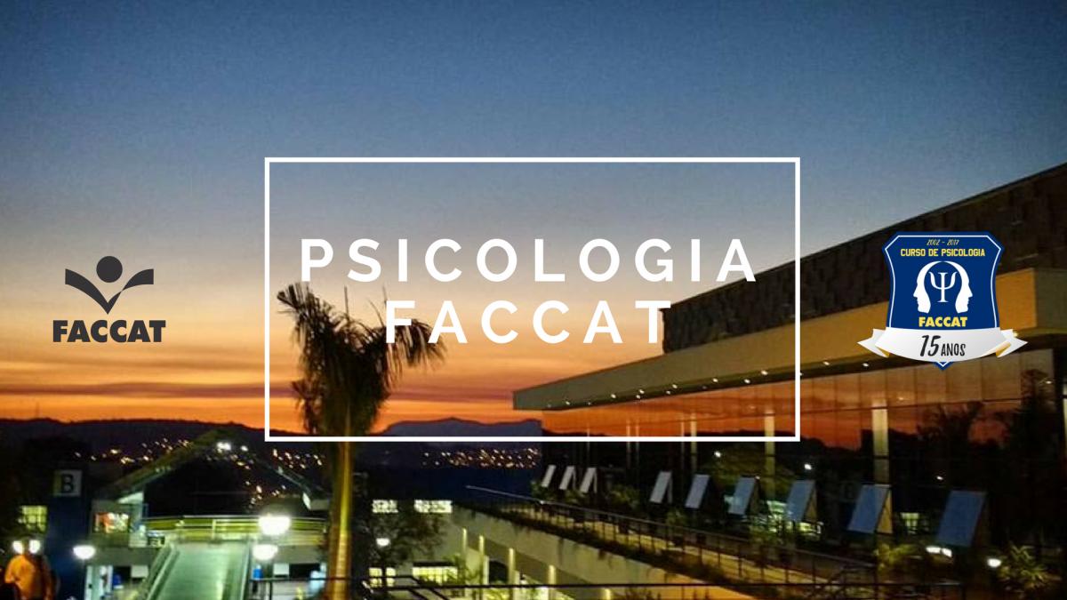 Curso de Psicologia da FACCAT.